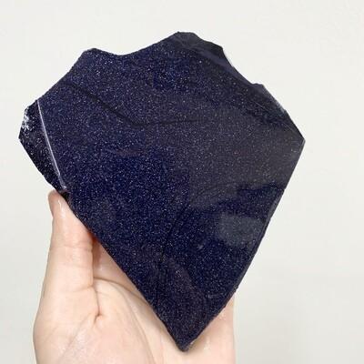 Blue Goldstone Slab – 212 grams