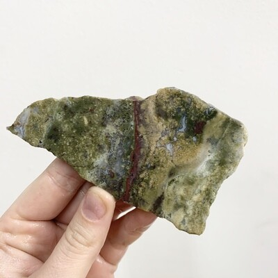 Moss Agate Slab – 75 grams