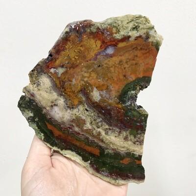 Moss Agate Slab – 224 grams