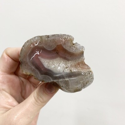 Red – Pink Swali Agate Rough Piece