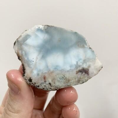 Larimar Slab – 38 grams
