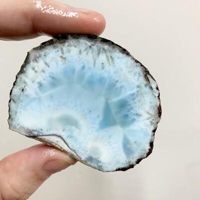 Larimar Slab – 52 grams