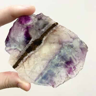Fluorite Slab – 99 grams