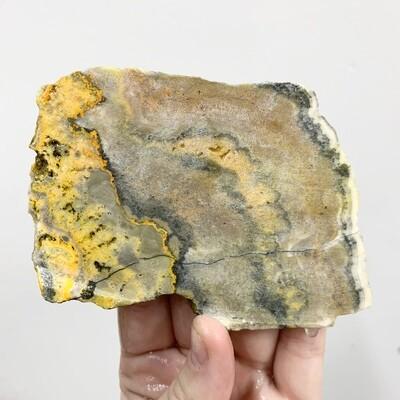 Bumblebee Jasper Slab – 132 grams