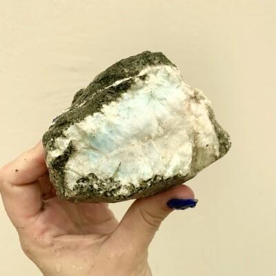 Rough Larimar – 2.19 pound piece