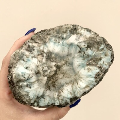 Rough Larimar – 3.11 pound piece