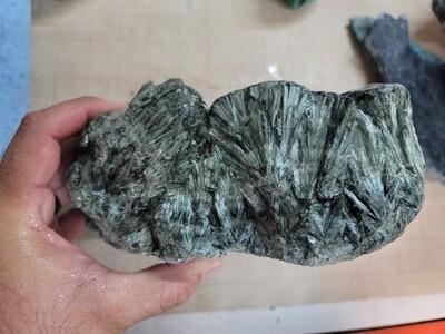 Seraphinite Rough - 6.47 pounds