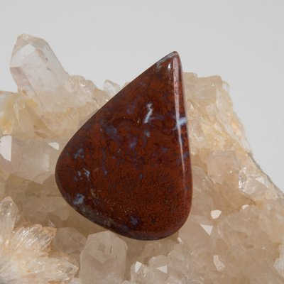 Indonesian Red Moss Agate Cabochon