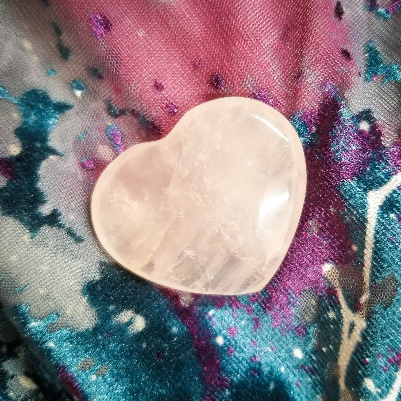 Pink Quartz Heart