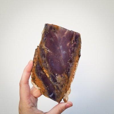 Purple Chalcedony Slab