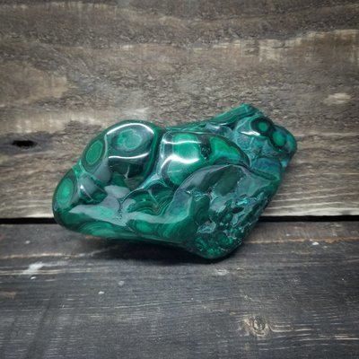 Polished Malachite Piece