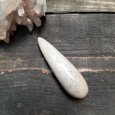 Fossilized Coral Massage Wand