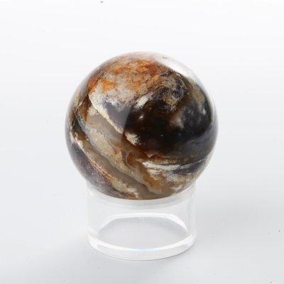 Purple Chalcedony Sphere