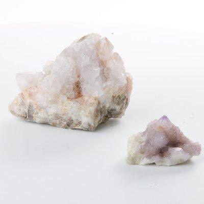 Spirit Quartz Clusters - Set of 2