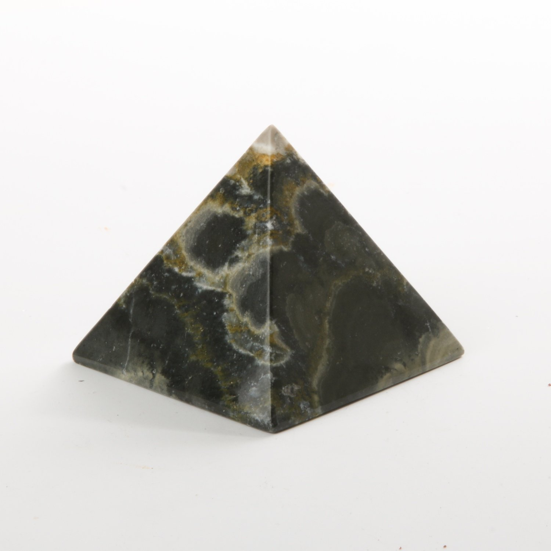 Bumblebee Jasper Pyramid