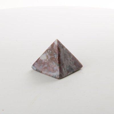 Pink Jasper Pyramid