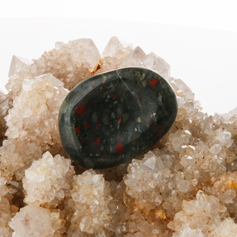 Bloodstone Worry Stone