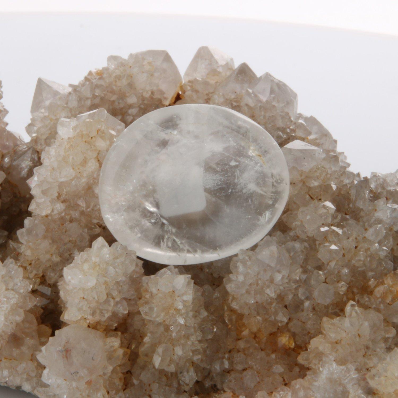 Clear Quartz Worry Stone