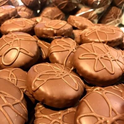 Milchschokolade - Zuckerfreie Lebkuchen - ohne Weizen - Box 10er - Bestellung auf Anfrage