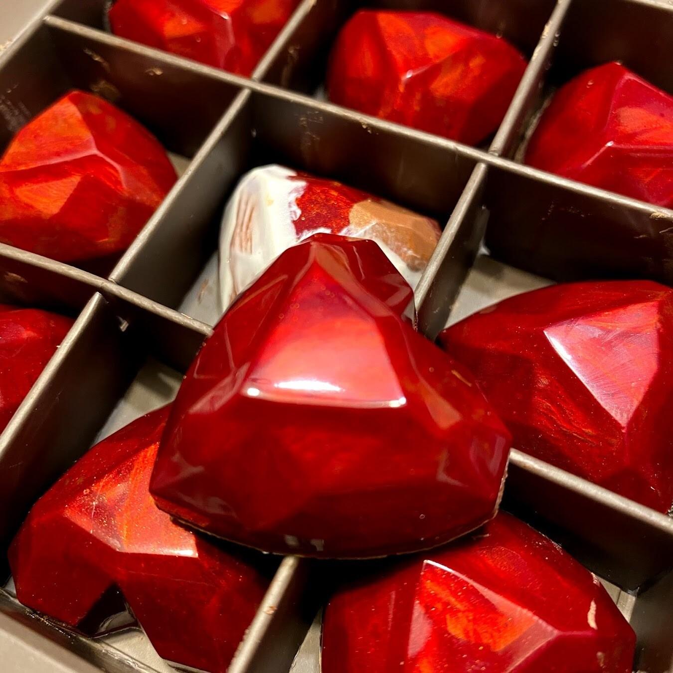 Salted Caramel Hearts - Box 9er