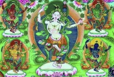 Five Dakini Retreat Mannuals