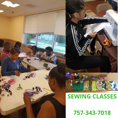 1 Hour of Virtual Sewing Instruction (Zoom)
