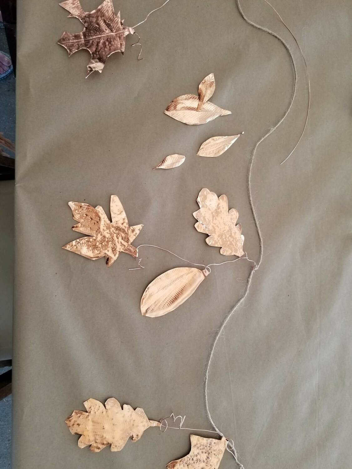 Make Your Own: Copper Leaf Wind Chime | SEP. 28