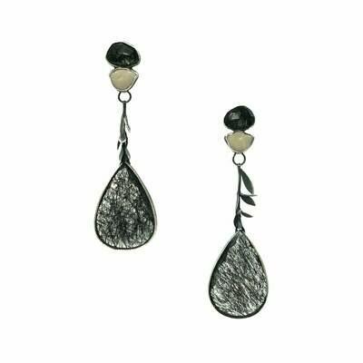 Anna Johnson: Cyclos Drop Earrings