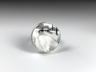 Teresa Kiplinger: Abandoned Enamel Ring