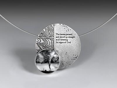 Teresa kiplinger: Listening for Signs Necklace