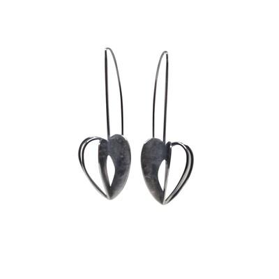 Leia Zumbro: Long Pod Drop Earrings