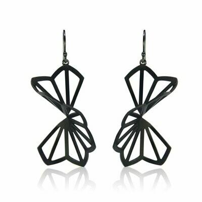 Karin Jacobson: Large Hyacinth Origami Earrings
