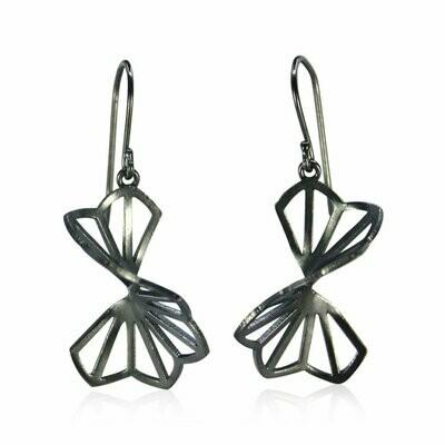 Karin Jacobson: Medium Hyacinth Origami Earrings