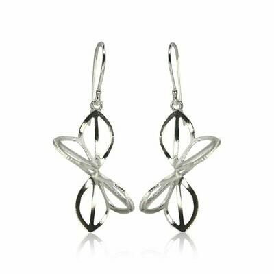 Karin Jacobson: Medium Anise Origami Earrings