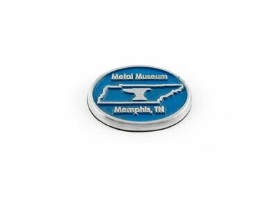 Metal Museum Tennessee Magnet