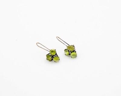 Joanna Gollberg: Peridot Cluster Earrings