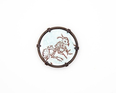 Charity Hall: Ant Brooch
