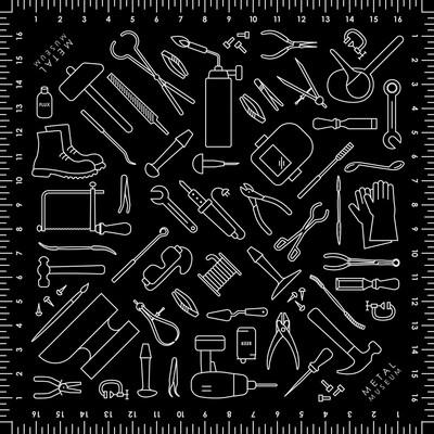 Tool Pattern Bandana