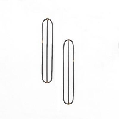 Devyn Vasquez: Alta Earrings, 4 inch