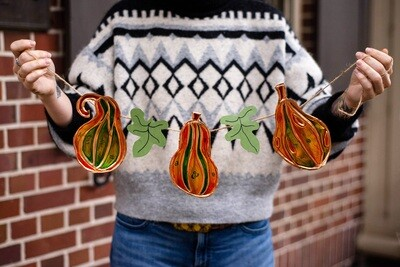 Young Coppersmiths: Fall Gourd Garlands | NOV. 21