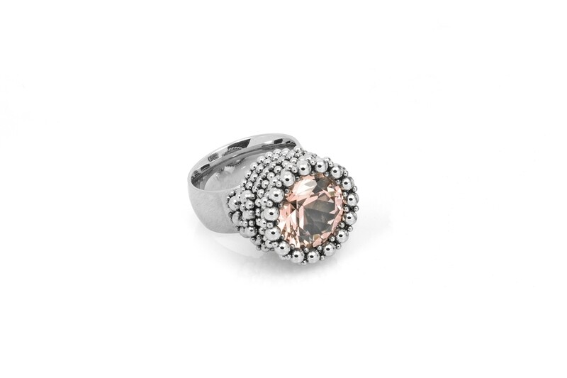 Ben Dory: Pink Solitaire Ring