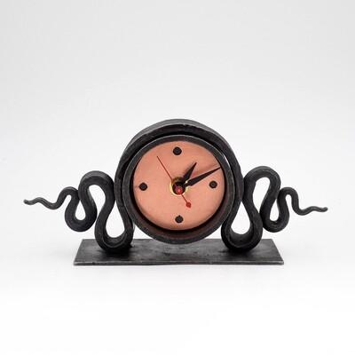 Blackthorne Forge: Snake Mantel Clock
