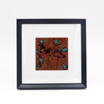 Lauren Estes: Framed Copper Art