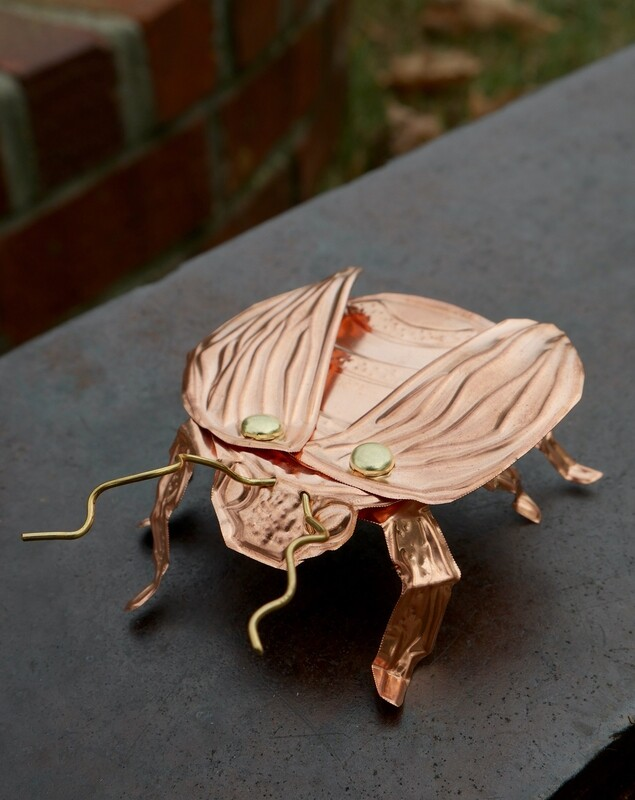 Craft With Us: Embossed Copper Bugs | MAR. 20, 1 - 1:45PM