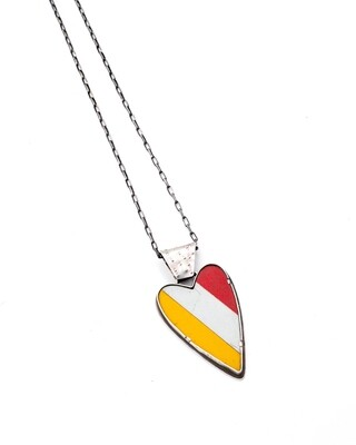 Amuck Design: XL Street Heart Necklace