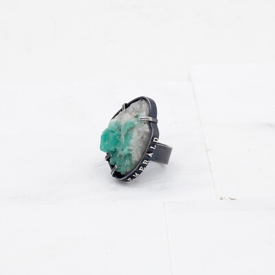Carin Jones: Emerald Specimen Ring