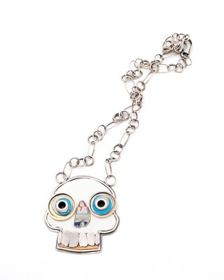 Amuck Design: XL Skull Necklace