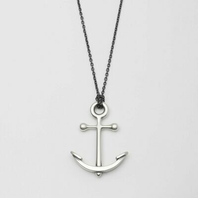 Beehive Handmade: Anchor Necklace