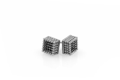 Ben Dory: Box Stud Earrings