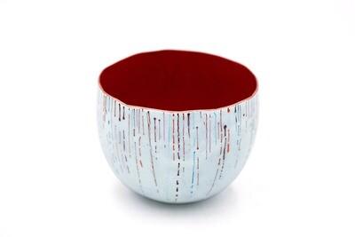 Sarah Perkins: Red on the Snow Bowl